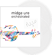 Midge Ure new album Orchestrated - exclusive autographed vinyl release
