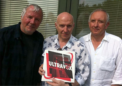 Ultravox (minus Warren Cann) with Moments From Eden